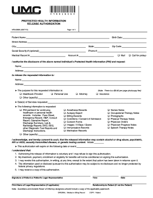 graphic about Printable Hospital Discharge Forms named Las vegas nv blank clinic launch variety umc - Fill Out and