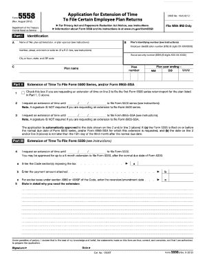 form 5558 instructions  Form 7 7 - Fill Out and Sign Printable PDF Template ...