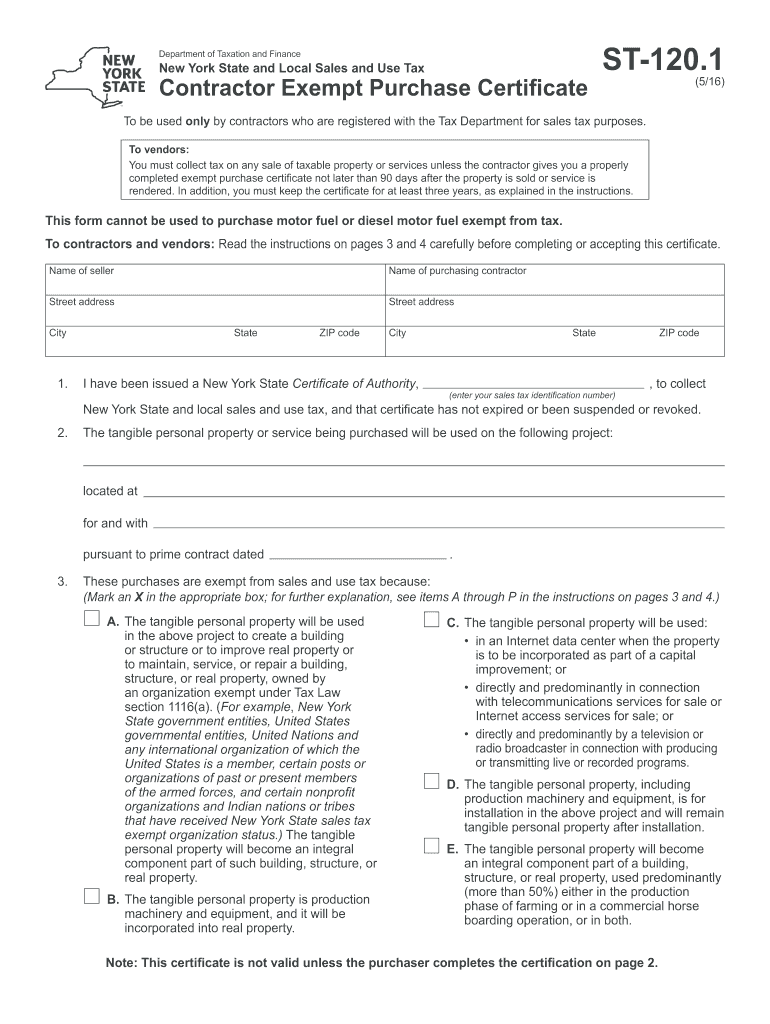 Get And Sign St120 Form 2016-2021