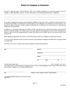 Loan guarantor form - Fill Out and Sign Printable PDF Template | SignNow