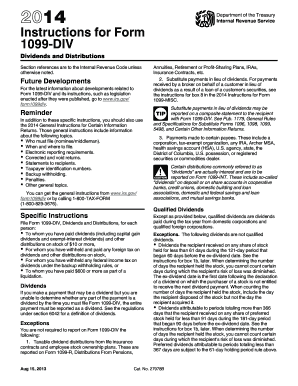 1099 form instructions  Get And Sign 10 Instruction 10 Div Form - Fill Out and ...
