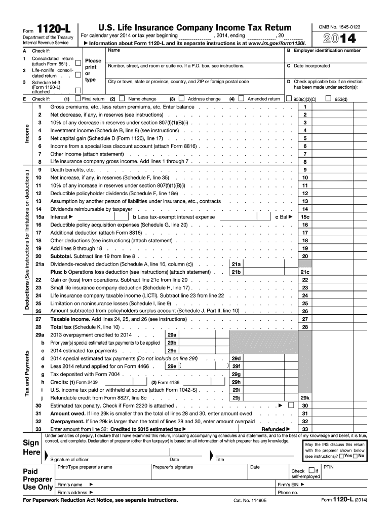 Get And Sign Form Company Tax 2014-2021