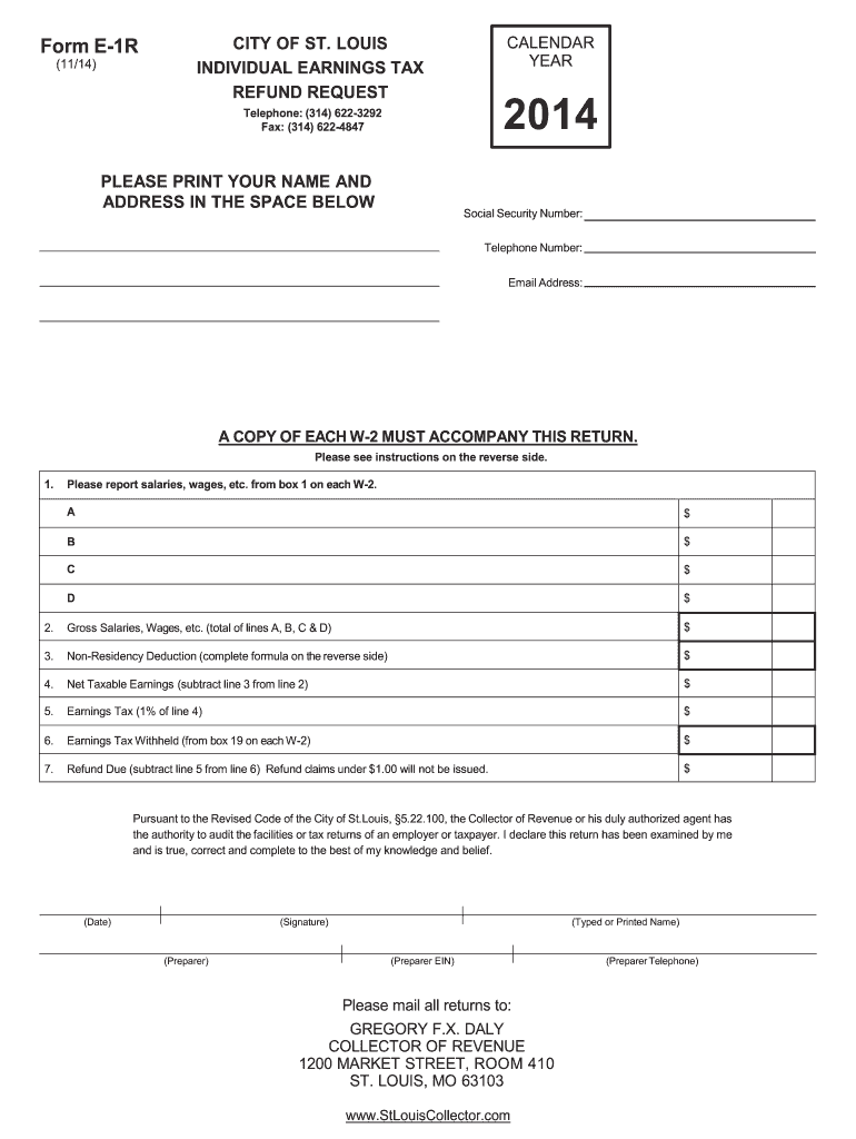 Get And Sign Mo Form E 1r 2014-2021