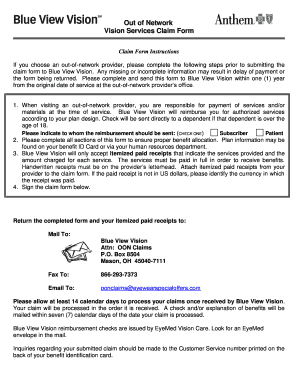 Anthem Form Out Network - Fill Out and Sign Printable PDF ...
