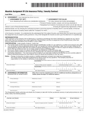 Get And Sign Absolute Assignment 2014-2021 Form
