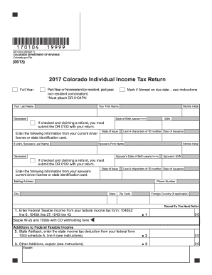2015 Co Form 104 Fill Out And Sign Printable Pdf Template Signnow