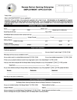 Get And Sign Avajo Nation Personnel 2015-2021 Form
