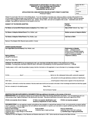 Get And Sign Mass Dot R 109 2016-2021 Form