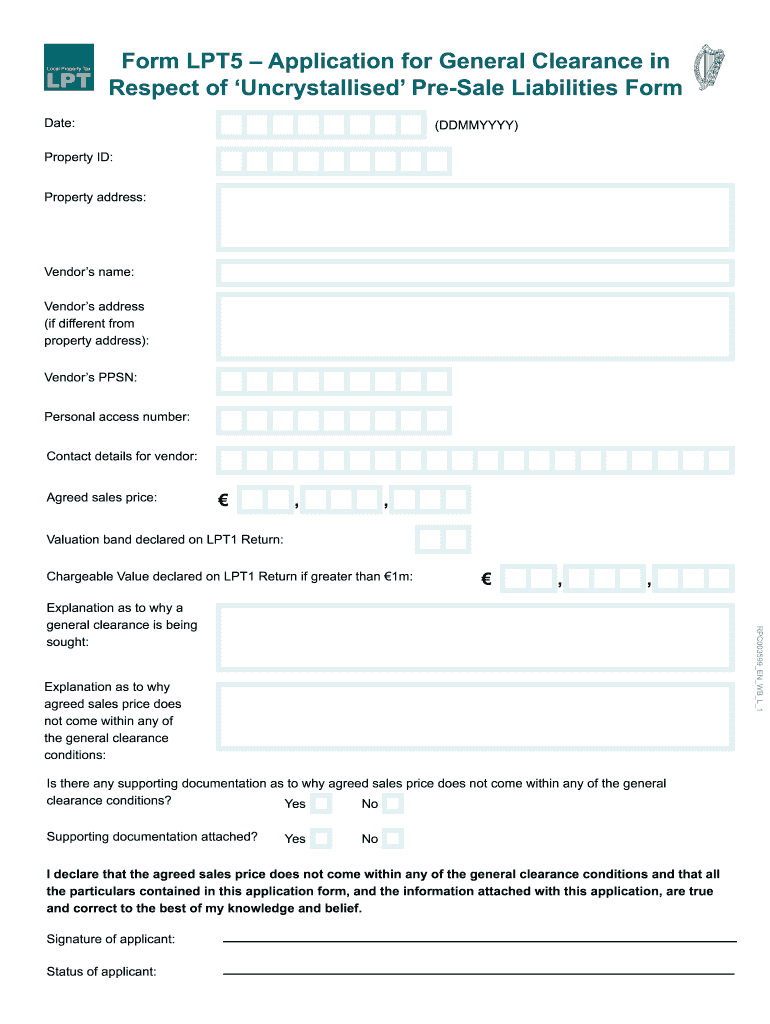 Get And Sign Lpt5 Form