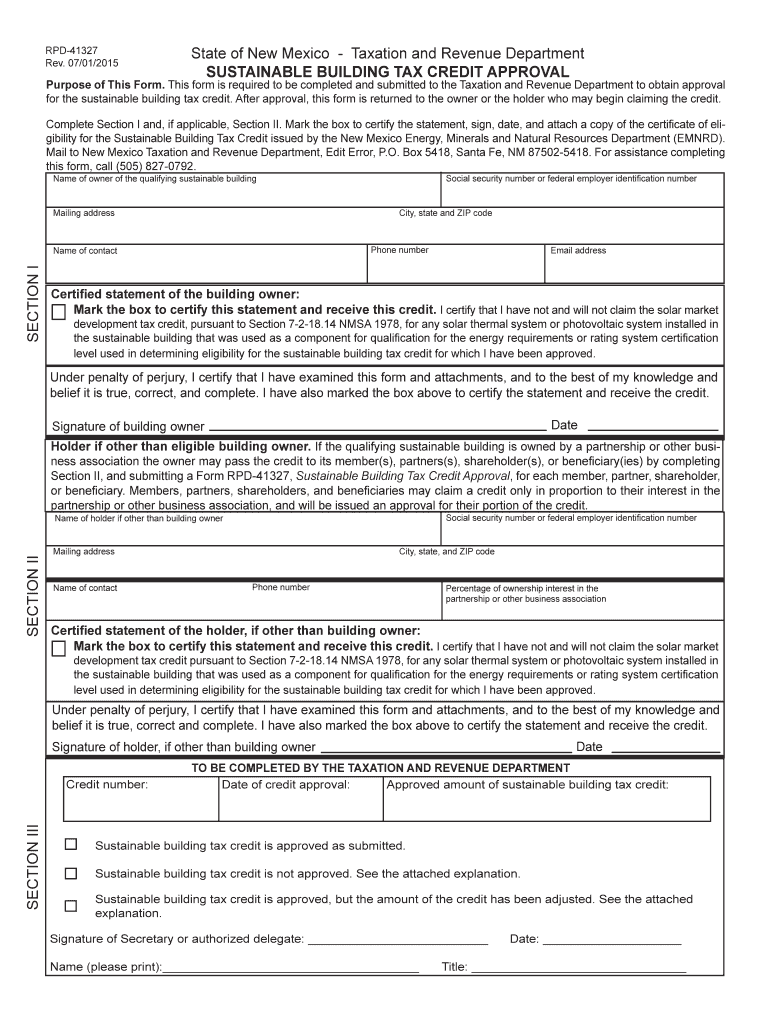 Get And Sign Rpd 41327  Form 2015-2021