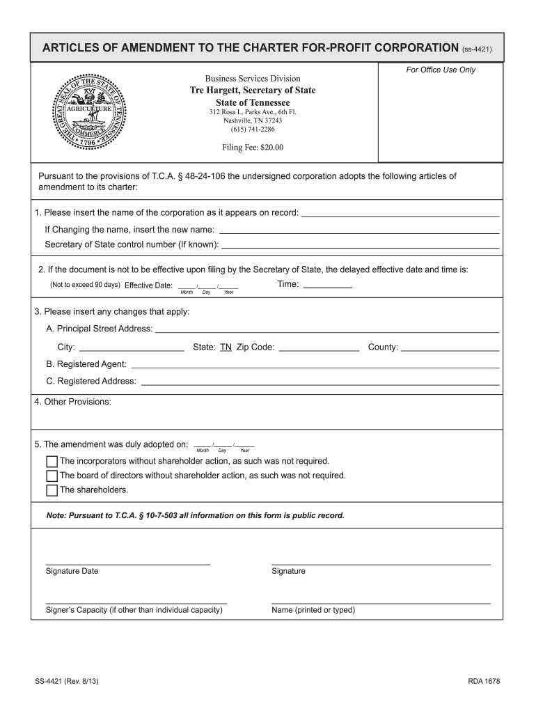 Get And Sign Ss4421 2013-2021 Form