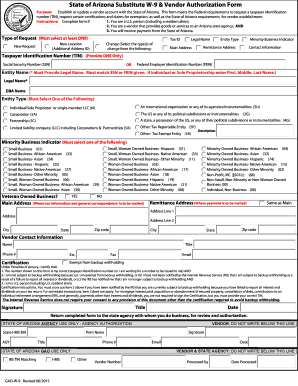 Gao W 9 Arizonapdffillercom 2015 2019 Form Fill Out And Sign