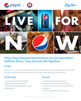 Pepsi & The Superbowl Halftime Show